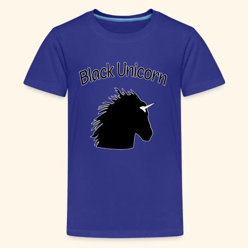 Black Unicorn for Black Queens and Feminists - Kids' Premium T-Shirt