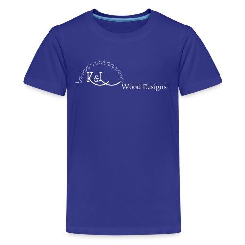 K&L Wood Designs - Kids' Premium T-Shirt