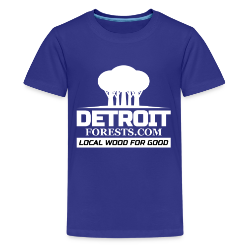 Great Lakes Forest | Detroit Forests LOGO - Kids' Premium T-Shirt