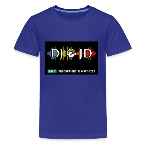 DJ JD - Kids' Premium T-Shirt