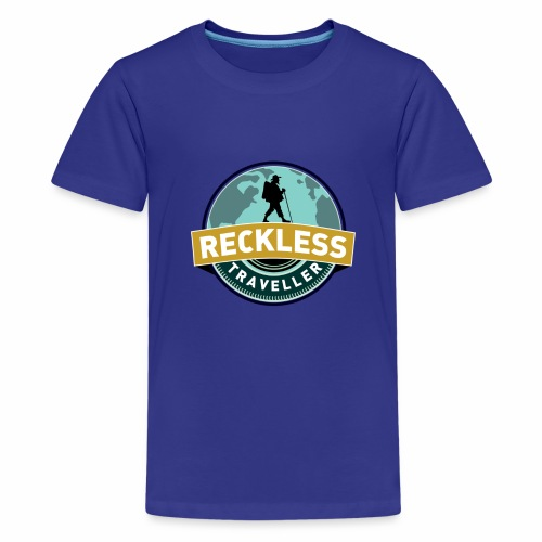Reckless Traveller - Kids' Premium T-Shirt