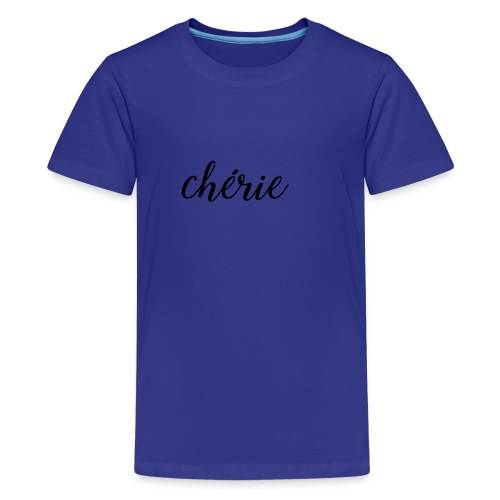 Chérie - A Shooting Star - Kids' Premium T-Shirt