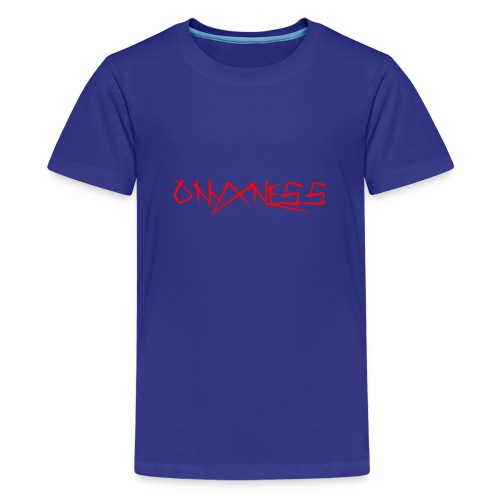 OnyxNess Logo design - Kids' Premium T-Shirt