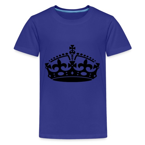 KEEP CALM CROWN - Kids' Premium T-Shirt