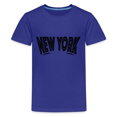 New York Looking - Kids' Premium T-Shirt