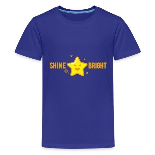 shine bright like a star - Kids' Premium T-Shirt