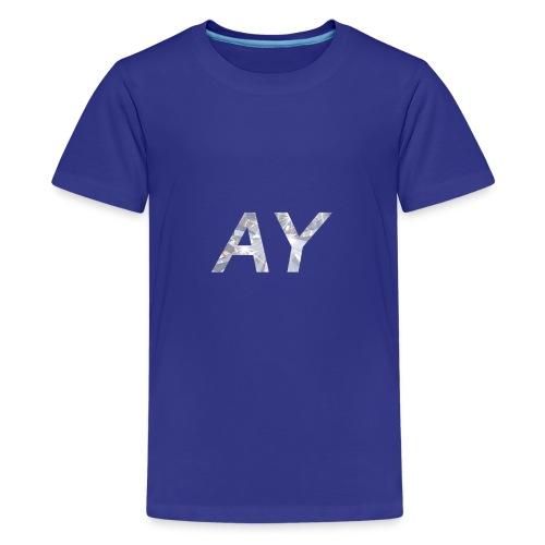 Ay White Diamond - Kids' Premium T-Shirt