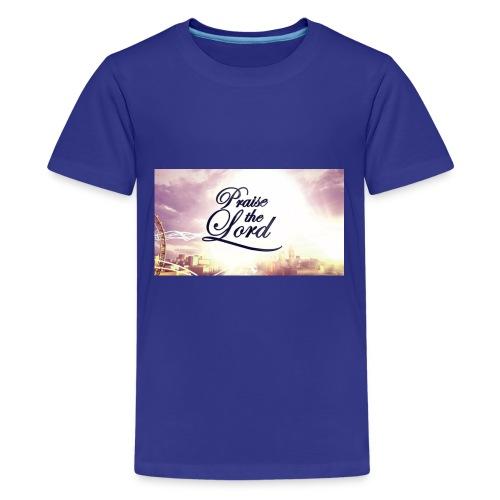 Praise The Lord T-Shirt - Kids' Premium T-Shirt