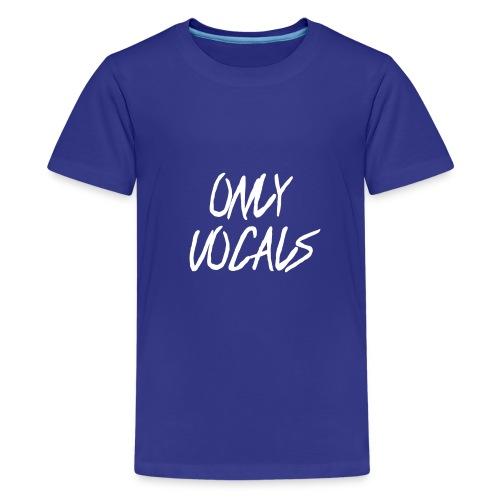 Only Vocals Official Logo - Kids' Premium T-Shirt
