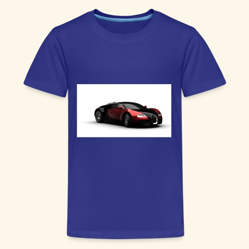 Chell's Shop of cars - Kids' Premium T-Shirt
