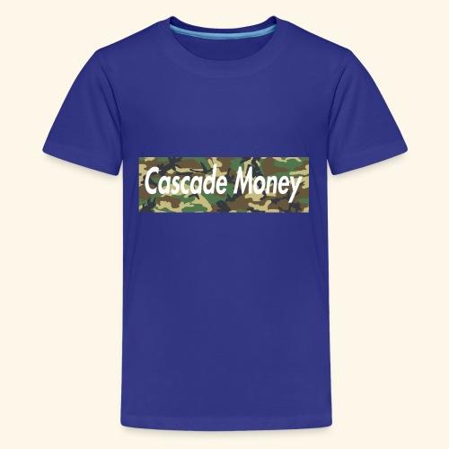 Cascade money camo - Kids' Premium T-Shirt