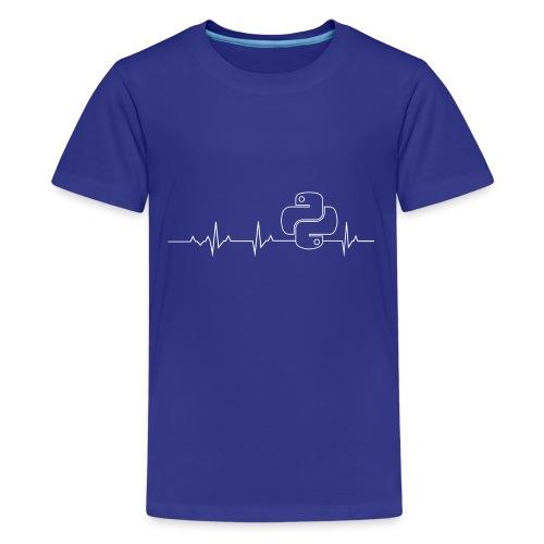 Python Heartbeat T-shirt Hoodie - Kids' Premium T-Shirt