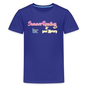 Summer Reading at Your Library - Kids' Premium T-Shirt
