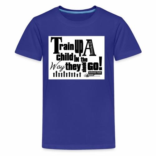 Train UP a child - Kids' Premium T-Shirt