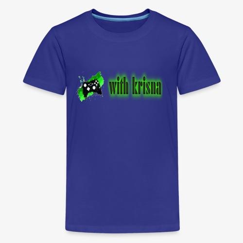 gaming with krisna merch - Kids' Premium T-Shirt