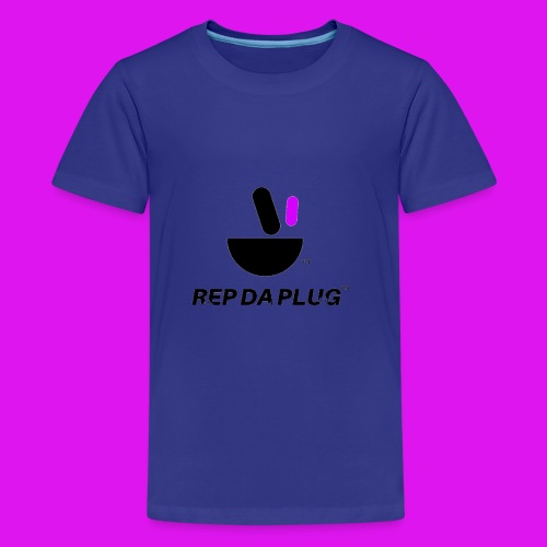Plug de Música logo - Kids' Premium T-Shirt