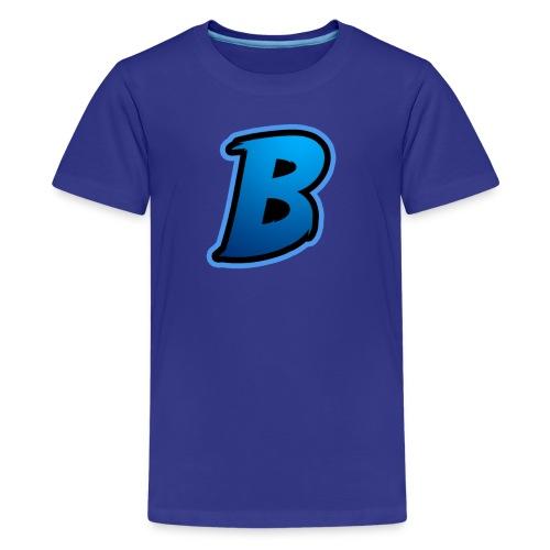 BradyBooneYT Logo - Kids' Premium T-Shirt