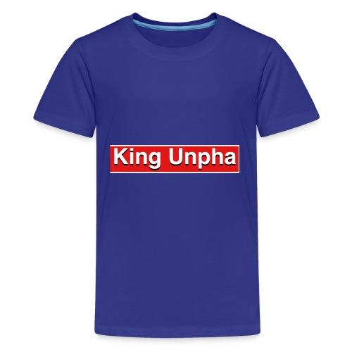 This is the king unpha merch - Kids' Premium T-Shirt