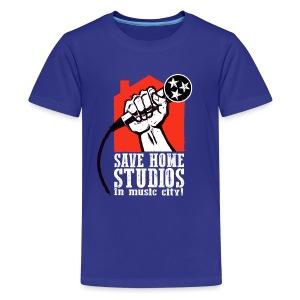 Save Home Studios In Music City - Kids' Premium T-Shirt