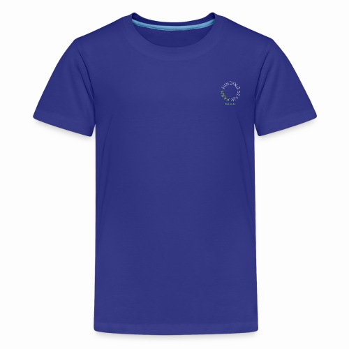 Winding Stair Farm Logo - white - Kids' Premium T-Shirt
