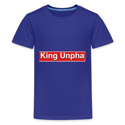This is the king unpha merch - Kids' Premium T-Shirt