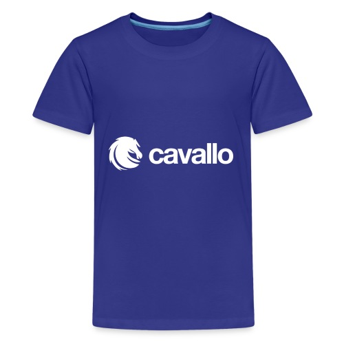 Cavallo Official Logo - Kids' Premium T-Shirt