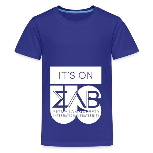 Its On Betas White - Kids' Premium T-Shirt