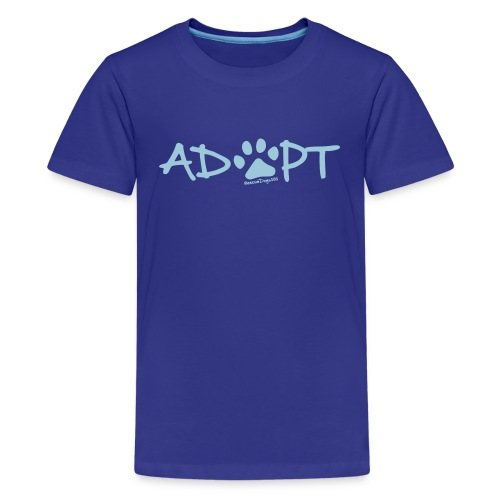 Rescue Dogs 101Adopt Pawprint - Kids' Premium T-Shirt
