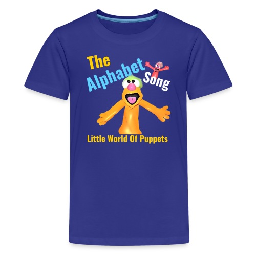 The Alphabet Song - Kids' Premium T-Shirt