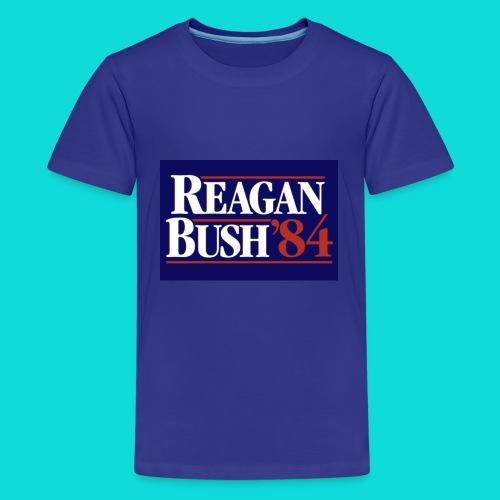 Reagan Bush - Kids' Premium T-Shirt