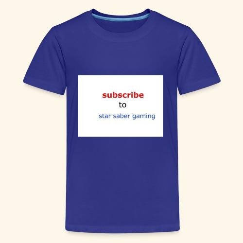 subscribe shirt - Kids' Premium T-Shirt