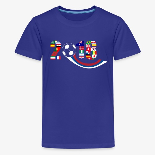 World Football Soccer Championship 32 Countries - Kids' Premium T-Shirt