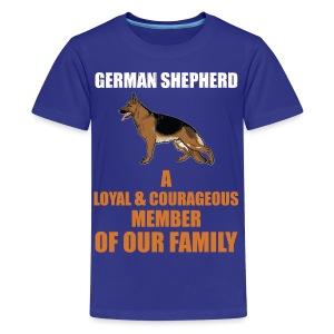 The German Shepherd - Kids' Premium T-Shirt
