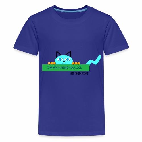 CREATIVE CAT - Kids' Premium T-Shirt
