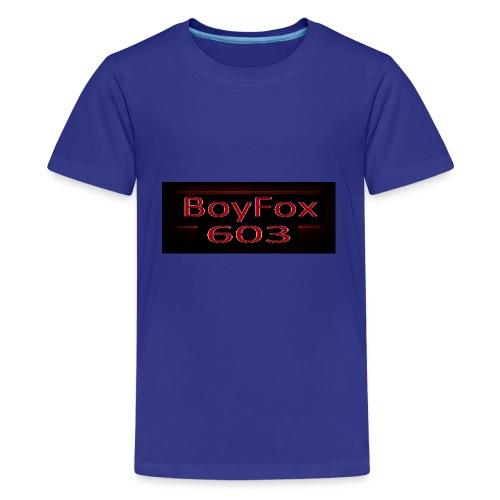 BoyFox 603 Stranger Things - Kids' Premium T-Shirt