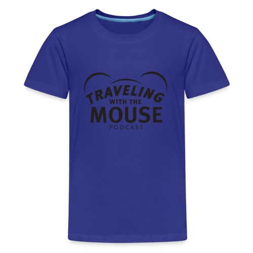 TWTM Logo in Black - Kids' Premium T-Shirt