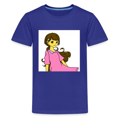 Nice cute girl - Kids' Premium T-Shirt