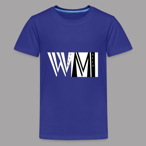 WALLSMAFIAwhite - Kids' Premium T-Shirt