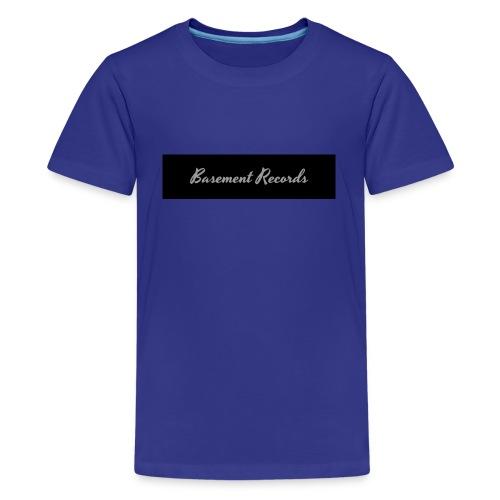 Basement Records - Kids' Premium T-Shirt