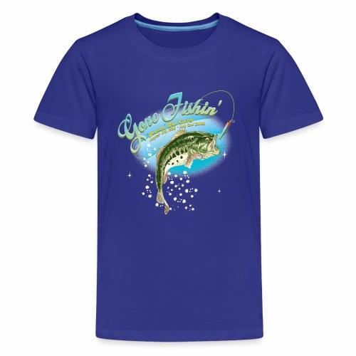 fishing base revise - Kids' Premium T-Shirt