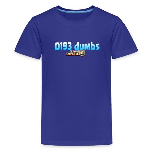 0193 dumbs Offical Shirt - Kids' Premium T-Shirt