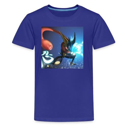 Blue ninja t shirt - Kids' Premium T-Shirt