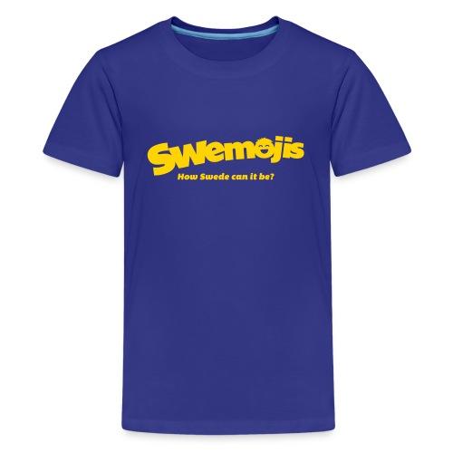 Swemojis logo - Kids' Premium T-Shirt