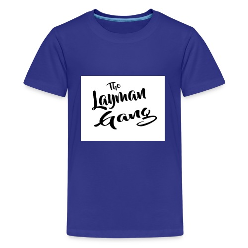 The layman gang shirt - Kids' Premium T-Shirt