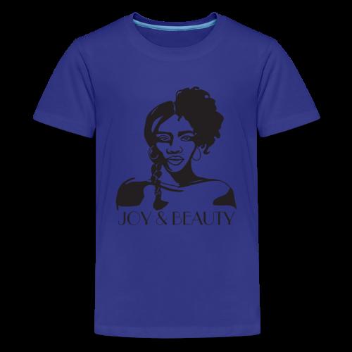 Joy and Beauty Logo - Kids' Premium T-Shirt