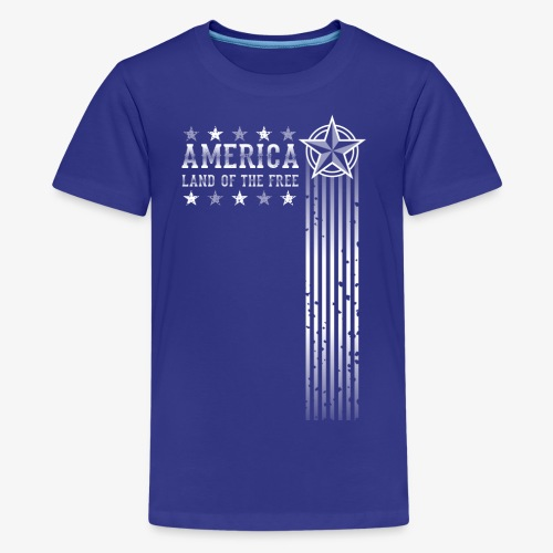 Land of the Free - Kids' Premium T-Shirt