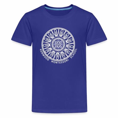 KenwoodLogo (White) - Kids' Premium T-Shirt