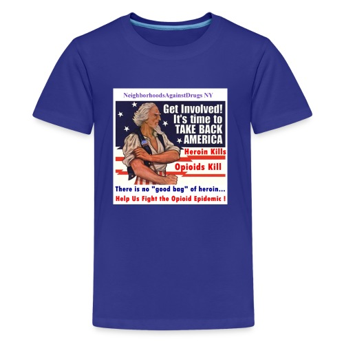 GetInvolved page 001 - Kids' Premium T-Shirt