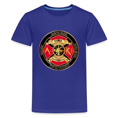 Alaska Association of Fire and arson investigators - Kids' Premium T-Shirt