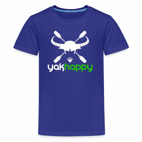 Yakhappy Logo Light - Kids' Premium T-Shirt